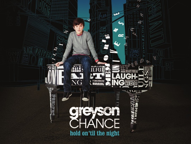 DIGITAL BOOKLET-HOLD ON 'TIL THE NIGHT(GREYSON CHANCE)