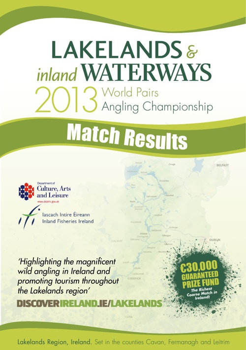 Match Results - World Pairs Angling Championship 2013