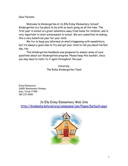 JEE Kindergarten Handbook 3