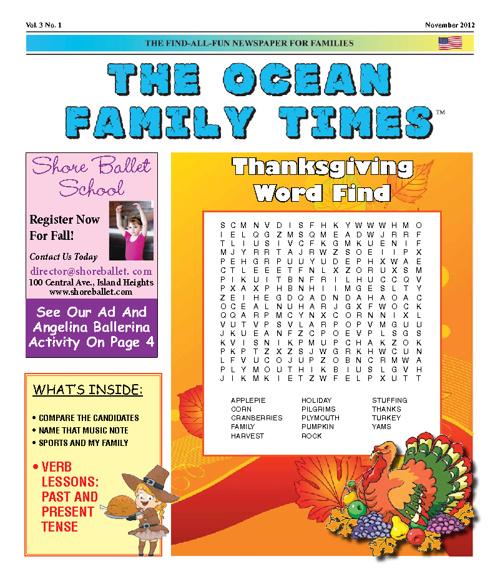 Ocean Family Times Nov. 2012