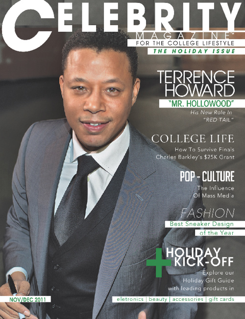 "Nov/ Dec 2011 ""Holiday"" Issue featuring Terrence Howard"