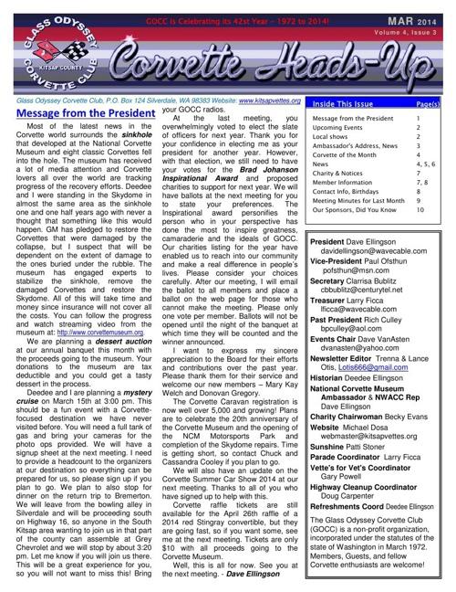 GOCC March 2014 Newsletter