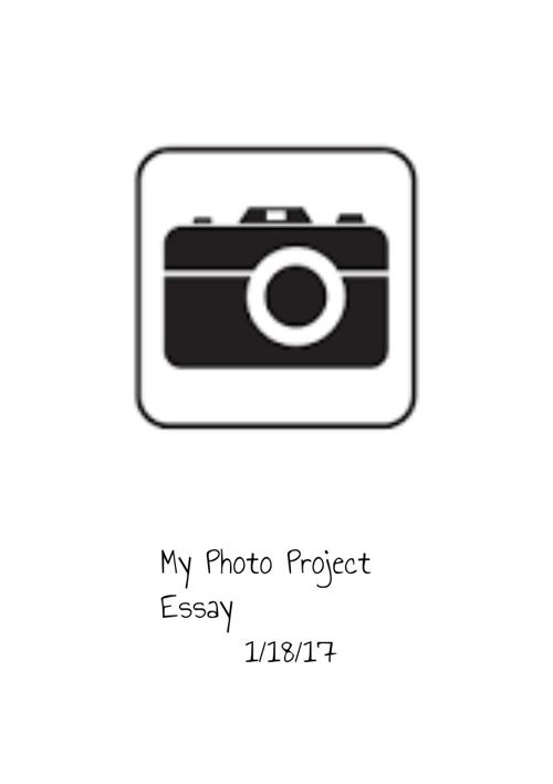 My photo project