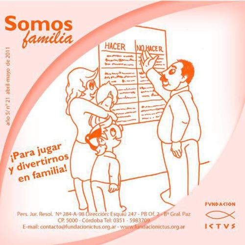 "Boletín ""Somos Familia"" N°21 - 2011"