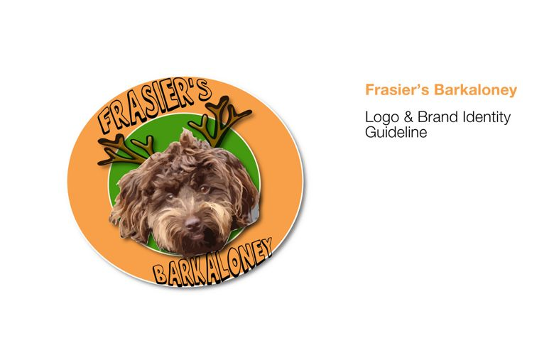 Frasier's Barkaloney Logo and Brand Identity