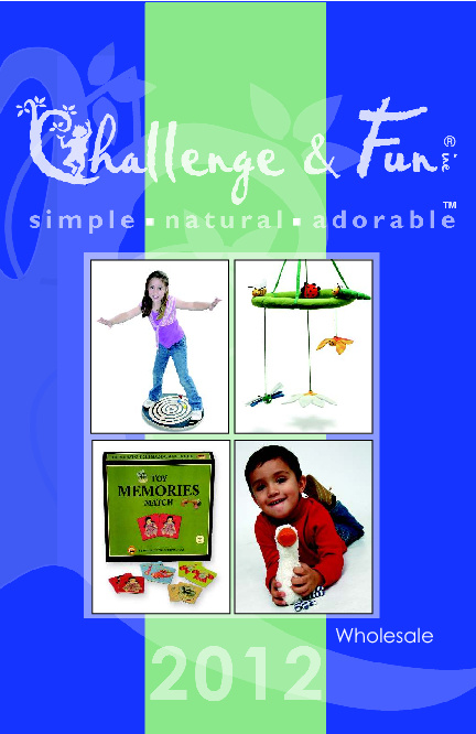 2012 Challenge & Fun Wholesale Catalog