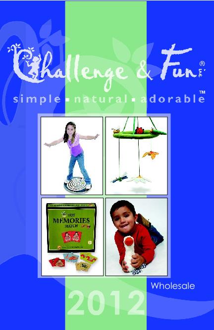 2012 Challenge & Fun Wholesale Catalog