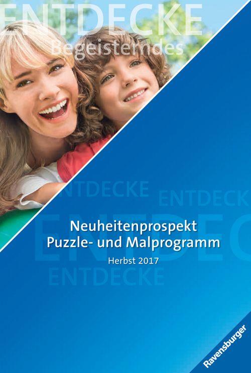 Neuheitenprospekt Puzzle-und Malprogramm Herbst 2017