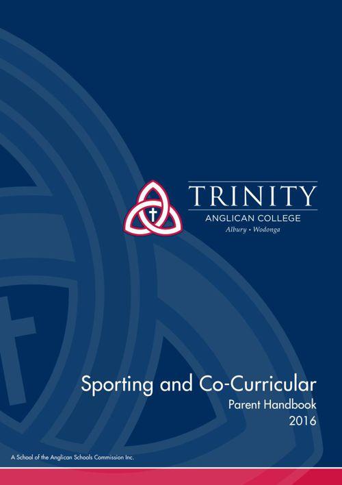2016 Sporting & Co-Curricular Handbook