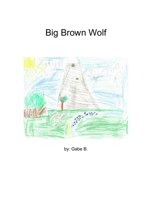 big brown wolf story by gabe