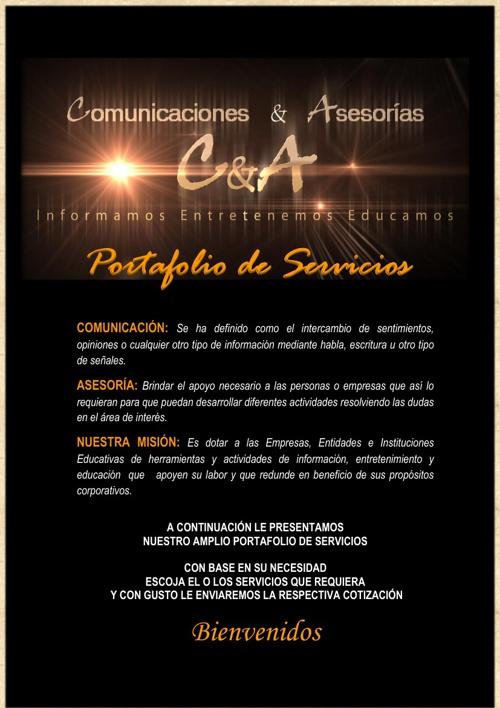 C&A PORTAFOLIO DE SERVICIOS