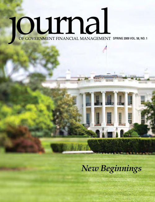 Spring 2009 Journal of Government Financial Management