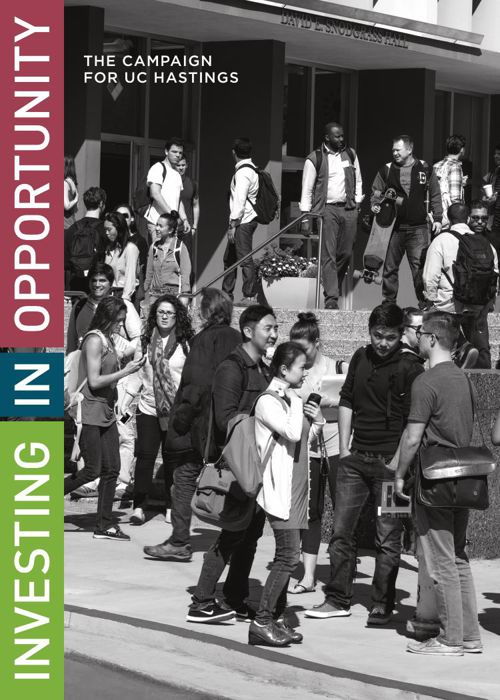 Investing in Opportunity: The Campaign for UC Hastings