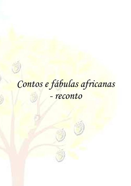 RECONTOS AFRICANOS VOLUME III