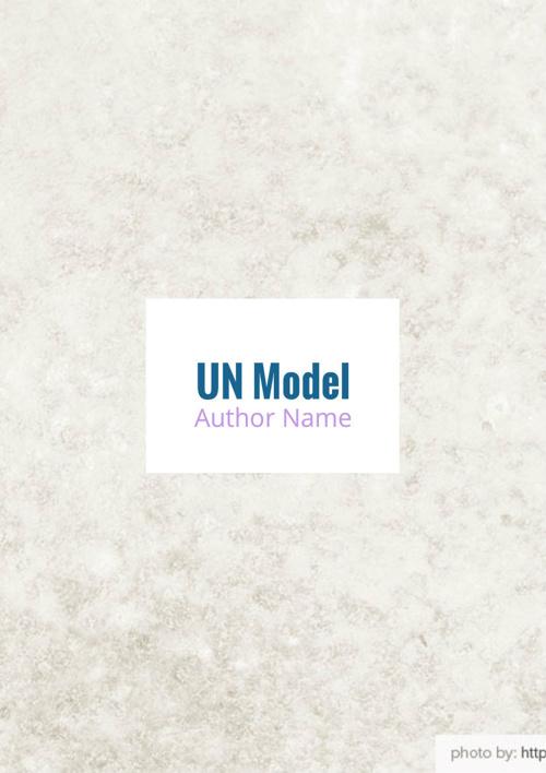 UN Model Alondra
