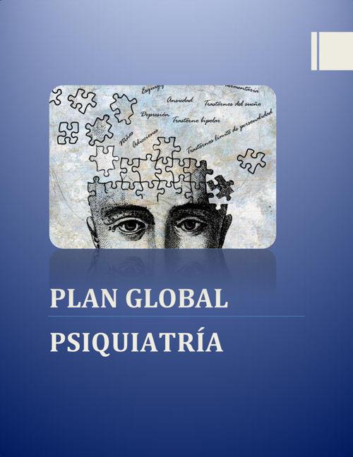 Plan Global de Psiquiatría