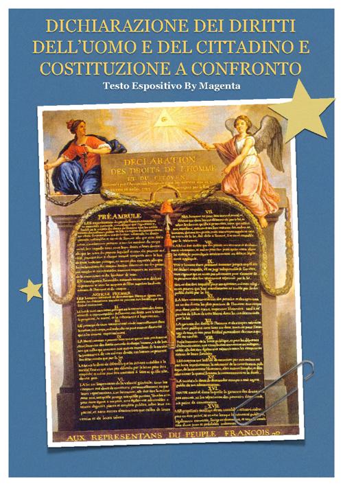 Dichiarazione VS Costituzione