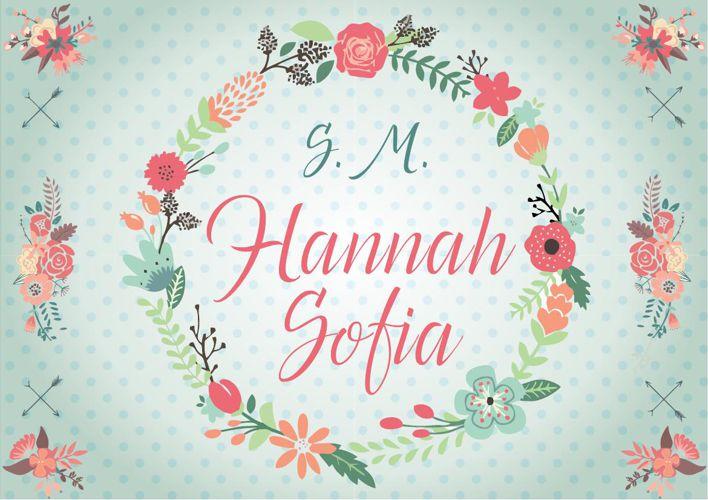Álbum Fotográfico S.M Hannah Sofia