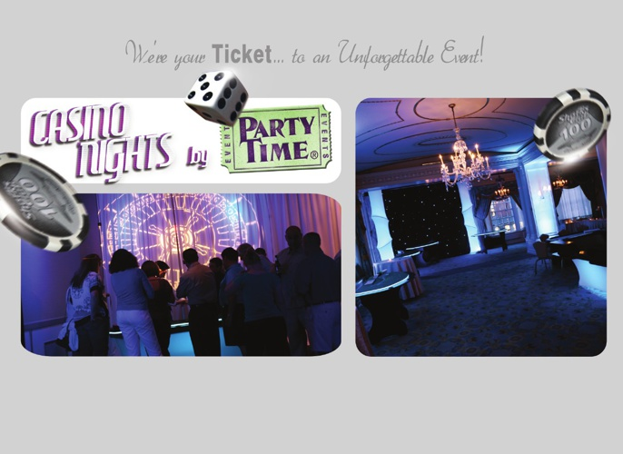Casino Brochure by Party Time Events