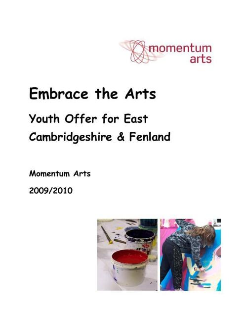 Embrace the Arts Programme 2009-2010
