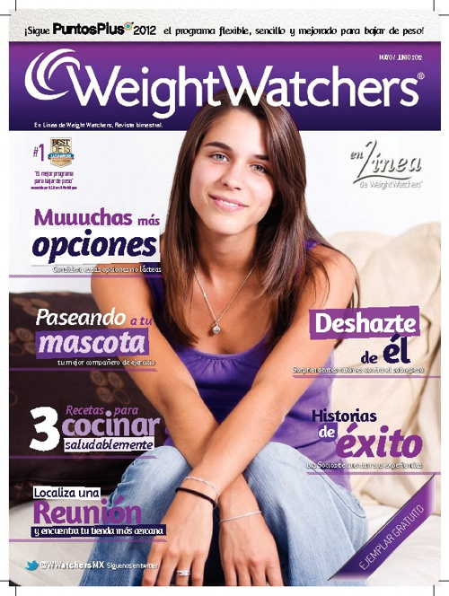 Revista Weight Watchers Mayo/Junio 2012