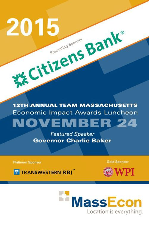 2015 Economic Impact Awards Program Book