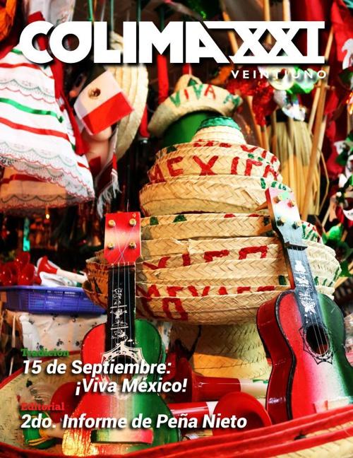 Revista Colima XXI Septiembre 2014