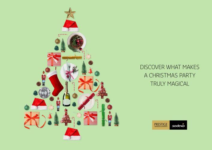 Sodexo Prestige Venues & Events – Christmas Brochure 2017