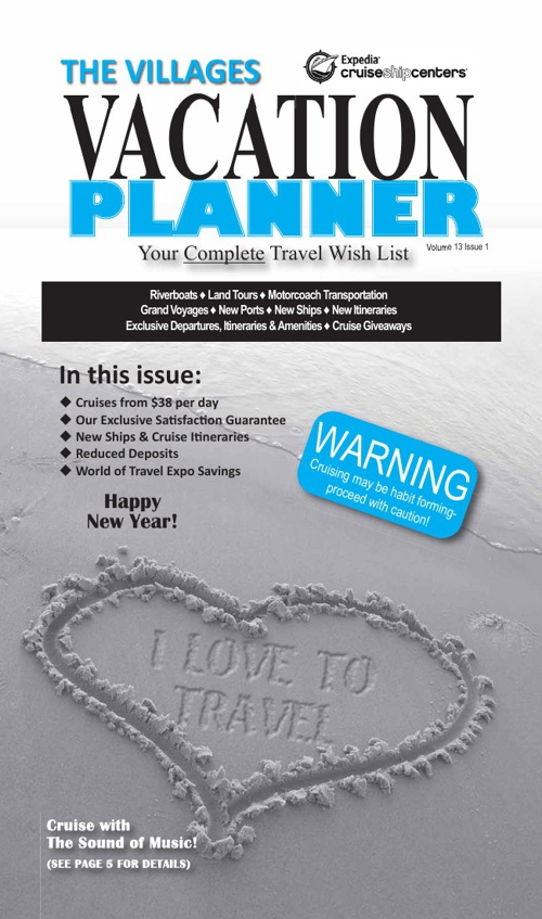 January 2013 The Villages Vacation Planner