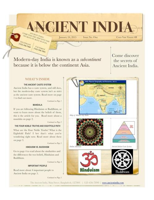 Ancient India Magazine