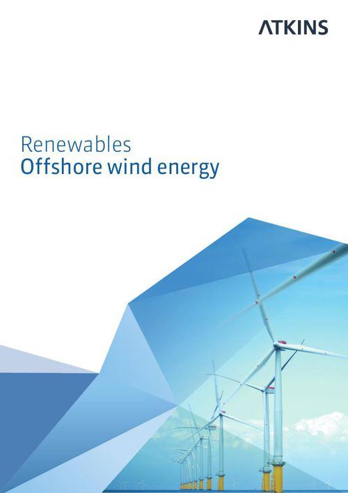Atkins - Renewables - Offshore wind energy