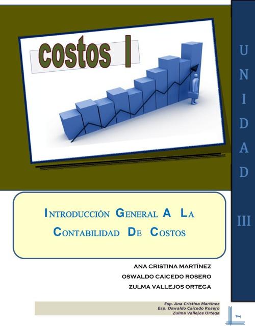 COSTOS I - MODULO UNIDAD III