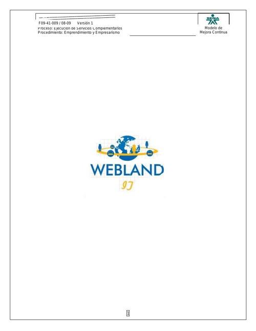 Plan negocio webland (Reparado)