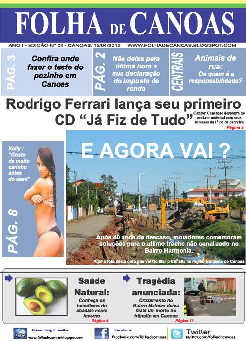 Jornal Folha de Canoas