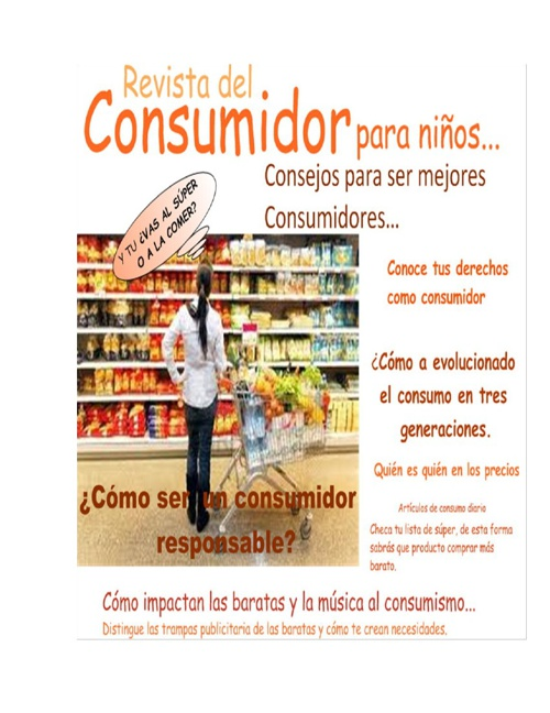 REVISTA DEL CONSUMIDOR TERCERO A