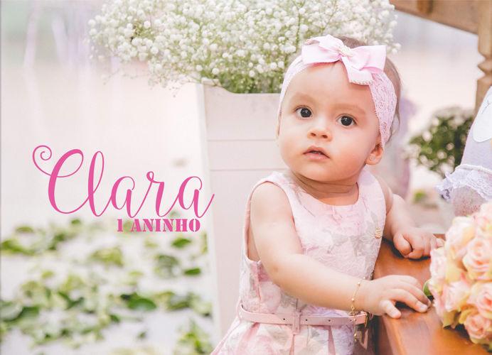 Clara 1 aninho