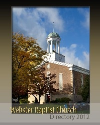 Webster Baptist Church Directory