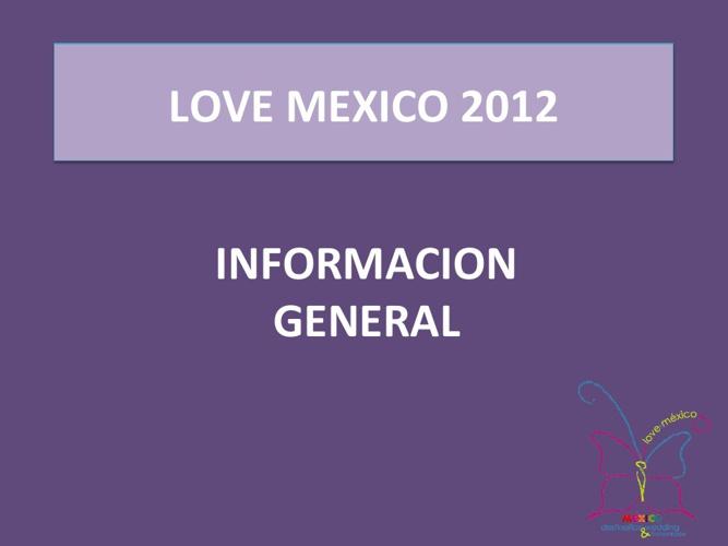 Resultados Evaluación Love Mexico Exhibitors