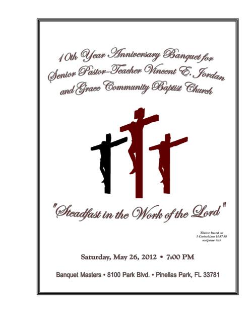 10th Year Anniversary Souvenir Booklet