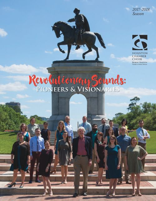 Houston Chamber Choir 2017-2018 Season Brochure