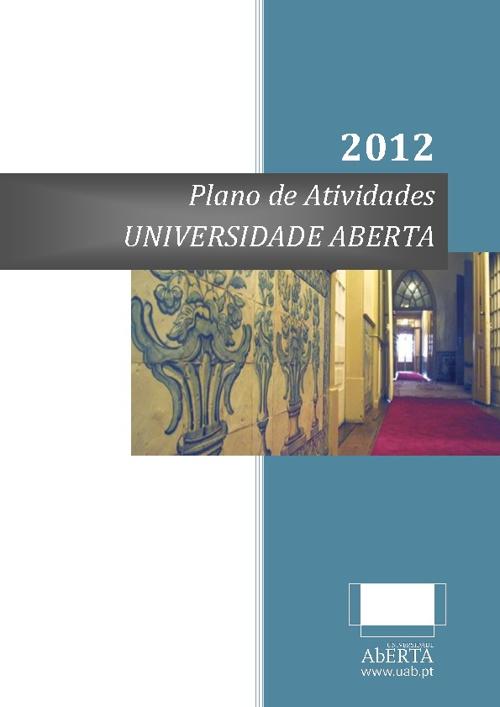 Plano de Atividades 2012