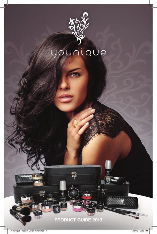 2013 Younique Catalogue - Independent Presenter Lindsay Whitham