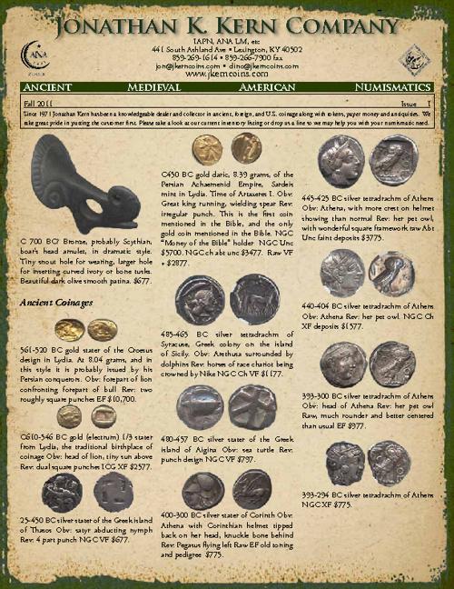 Jonathan K. Kern Company Fall Catalog