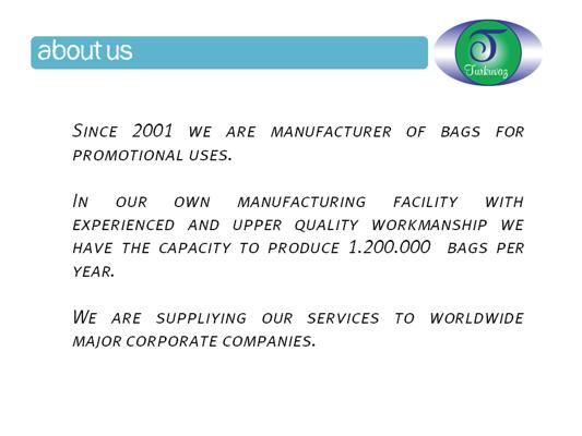 Turkuvaz Bags Company Profile Eng.