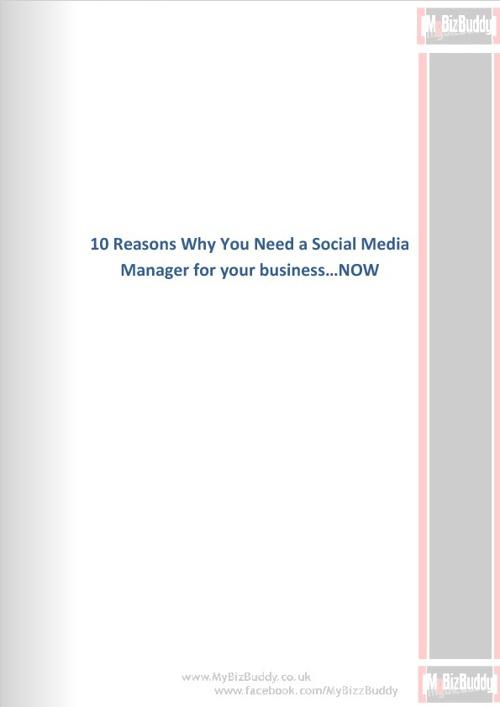 10 Reasons You Need Social Media