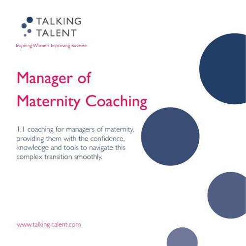 121 Manager of Maternity Coaching