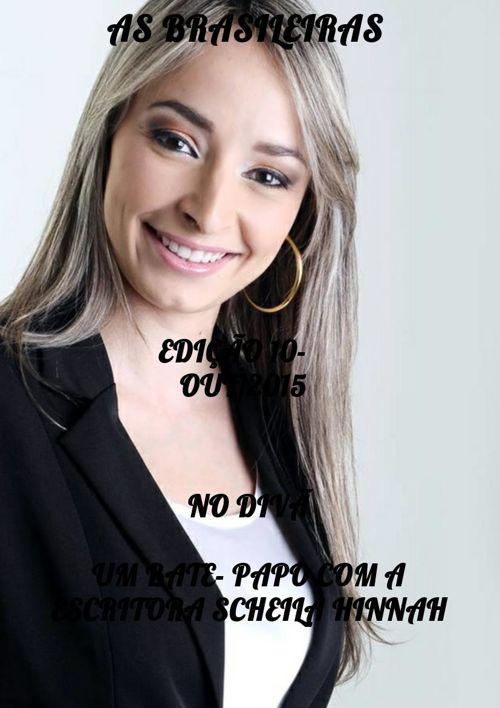 CLIPPING NO DIVÃ ESCRITORA SCHEILA HINNAH
