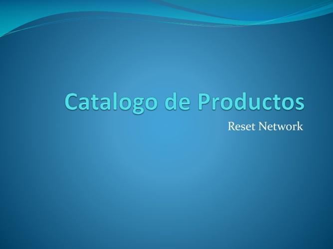 catalogo de productos