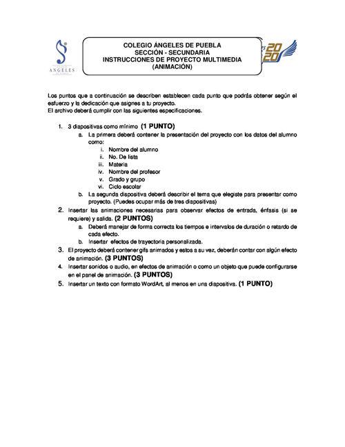 PUNTOS DE PROYECTO ANIMACIÓN (1)