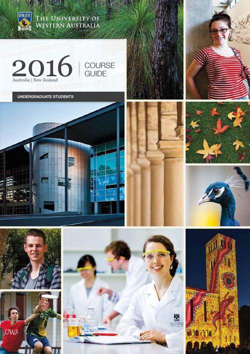 2016 UWA Undergraduate Course Guide (domestic students)